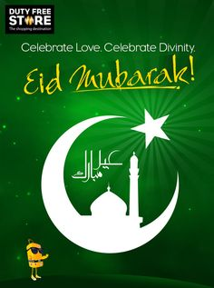 Make this Eid special with family, friends and laughter! Eid Mubarak