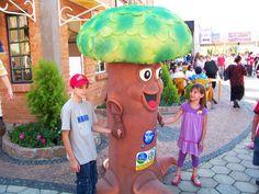 Mascote de Vestir - Árvore