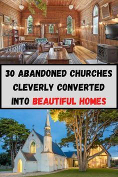 These amazing conversions end up making the home exceptionally valuable in part due to their size, their style and their uniqueness. In fact, a converted Gothic church in London posted on the market for a whopping $7.7 million. Swipe through the following slides and see for yourself how inspiring these building makeovers really are. The vision it took to convert them had to be exceptional!