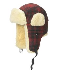 Men's Plaid Wool Hunting Hat from Woolrich