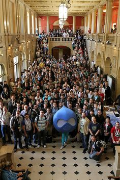 Drupalcon Paris, France 2009 850 attendees.