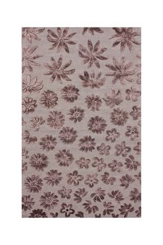 Flower area rugs