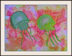 Bubble Prints with Jellyfish