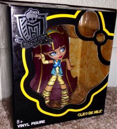 Monster High Vinly Figures Cleo de Nile In Box