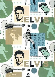 More fabric ideas for Kim. Elvis fabric