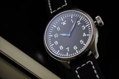 Luminova for optimal visibility Pilot, Bling, Military, Watches, My Love, Accessories, Design, Camera Lens, Clock