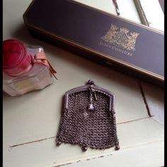 Vintage Silver Mesh  Coin Purse Awesome  vintage coin purse. Bags
