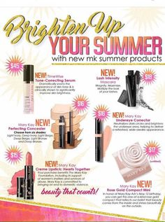 Get Your Mary Kay Summer Must Haves HERE! www.marykay.com/kaseyedwards