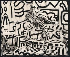 annie leibovitz AND keith haring - doesn't get better in my book.