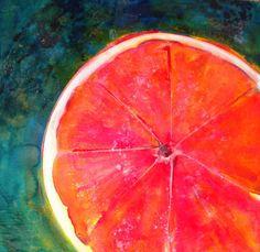 Slice Of Texas Painting  - Slice Of Texas Fine Art Print