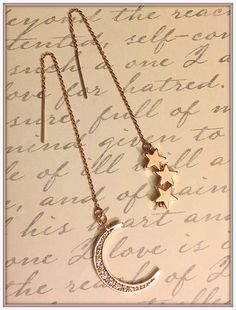 You Are the Moon and the Stars EarringsValentines Day