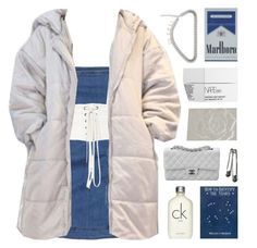 """""""i really like this jacket"""" by celhestial ❤ liked on Polyvore featuring Pierre Balmain, Isabel Marant, Calvin Klein, NARS Cosmetics, Chanel and Anna Sui"""