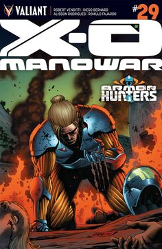 Letting the Characters Breathe--X-O Manowar #29