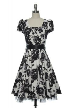 Midnight Tea Party Dress   Vintage, Retro, Indie Style Dresses  http://www.laceaffair.com/midnight-tea-party-dress/