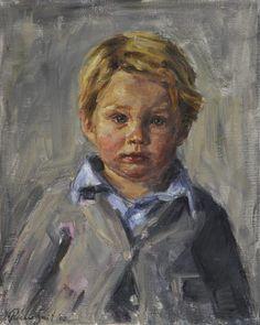 """Olle,"" 2008 -- by Rianne Smit, Dutch Portrait, Diy Canvas Art, Great Artists, Art Boards, Ariel, Art Drawings, Faces, Paintings, Watercolor"