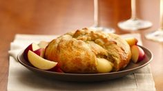 Baked brie is always a hit at parties, and the easiest -- and most delicious -- way to serve it is this classic Crescent-Wrapped Brie recipe.