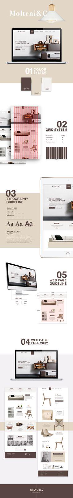 Presentation Design Inspiration, Simple layout for PowerPoint Flat Web Design, Creative Web Design, Web Portfolio, Portfolio Design, Web Layout, Layout Design, Brand Identity Design, Branding Design, Homepage Design