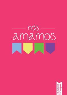 Nós amamos festa junina! Dia de São João! #festajunina #casadasamigas #poster