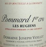 "GrapePip Auction: 2002 Pommard 1er Cru Les Rugiens, Joseph Voillot. Lot live in March 2015. Opening at £465 in bond per 6 magnums.  ""There is another dimension here with beautifully elegant red fruit aromas of class, purity and superb detail...complex, expansive, rich and powerful flavors...plus an anise and cassis-infused finish of stunning length...this is more refined and less robust than it usually is. A terrific effort...Bravo!"" Burghound"