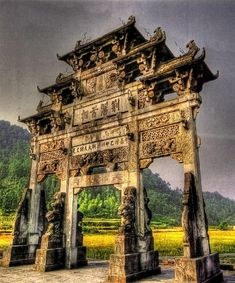 Chinese Gate - HDR by AfroAfrican.deviantart.com on @DeviantArt