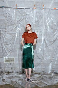 "koreanmodel:  ""Kim Min Jung by Hwang Un Ha for Fayewoo Lookbook  "" Fashion Model Poses, Fashion Shoot, Editorial Fashion, Runway Fashion, Fashion Models, Lazy Fashion, Jung So Min, Kim Min, Artistic Fashion Photography"
