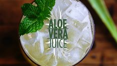 Check out Aloe Vera Juice on Thirsty For...