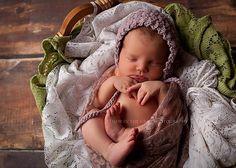 Ravelry: Vintage Star Baby Bonnet pattern by Crochet by Jennifer
