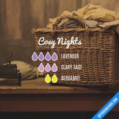 Cosy Nights - Essential Oil Diffuser Blend