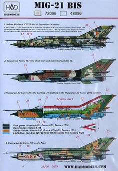 100%™ Mikoyan & Gurevich MiG-21Bis | Indian, Russian, Hungarian Air Forced