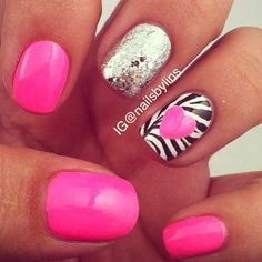I like the Zebra.. maybe with out the heart. *s
