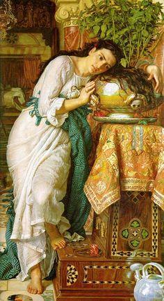 William Holman Hunt: Isabella & The Pot of Basil