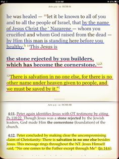 The FULL POWER AND AUTHORITY of the Godhead is encapsulated in the Name of Jesus Christ (John 5:43, Philippians 2:9, John 14:13, 14, 26, Acts 4:12) Scriptures, Bible Verses, Acts 4 12, Acts Of The Apostles, Bible Commentary, Evening Prayer, Names Of Jesus Christ, Prayer Journals, Philippians 2