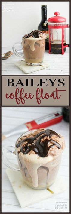Baileys Coffee Float Baileys, Brewing, Coffee Beans, Coffee Drinks, Pudding, Desserts, Food, Tailgate Desserts, Deserts