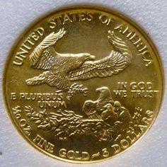 1/10 oz gold eagle in case 1/10 oz gold co 1461