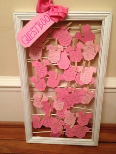 a guest book for a baby shower
