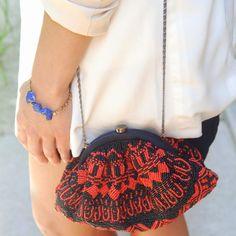 Aztec Beaded Bag   # Pin++ for Pinterest #