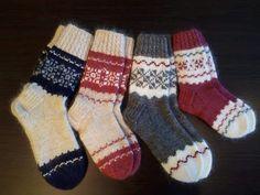 Sock Knitting, Baby Knitting Patterns, Mittens, Crochet Projects, Knit Crochet, Tights, Breien, Knit Socks, Fingerless Mitts
