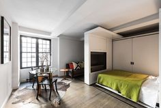 micro-apartment-dining-area-and-bed