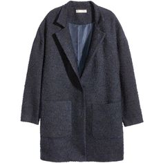 Short coat in bouclé containing some wool with dropped shoulders, a concealed press-stud at the front and patch pockets. Long Sleeve Sweater, Sweater Cardigan, Boucle Coat, Outfit Combinations, Outerwear Women, Latest Fashion For Women, Kappa, Mantel, Beautiful Outfits