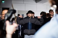 Christopher Shannon Fall Winter 2015 Backstage #LCM #LCM15 | kim sangwoo