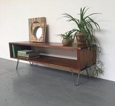 Houston Mid Century Coffee Table/ TV Stand/ Media Unit On 20cm Hairpin Legs