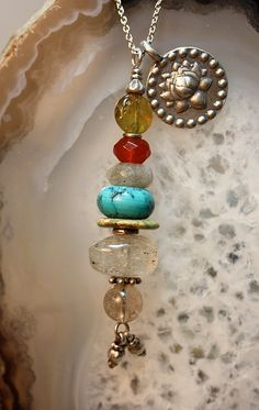 Creativity  Sacred Intention Necklace by abbyhorowitzdesigns, $35.00