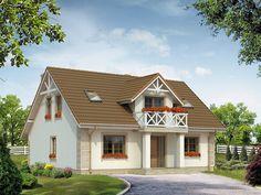 Projekt Dudek 2 (138,25 m2) to energooszczędny dom z użytkowym poddaszem o tradycyjnym charakterze. Pełna prezentacja projektu dostępna jest na stronie: https://www.domywstylu.pl/projekt-domu-dudek_2.php.  #dudek #projekty #projekt #gotowe #typowe #domy #domywstylu #mtmstyl #home #houses #architektura #interiors #insides #wnętrza #aranżacje