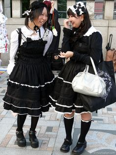 japanese gothic lolitia - Google Search