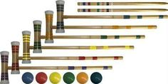 "24"" Tournament Croquet Set"