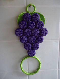 Ideas Crochet Crafts To Sell Buttons Crochet Flower Patterns, Crochet Blanket Patterns, Crochet Flowers, Crochet Towel Holders, Crochet Towel Topper, Marque-pages Au Crochet, Crochet Coat, Crochet Rugs, Crochet Christmas Stocking Pattern