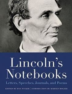 Lincoln's Notebooks: Letters Speeches Journals and Poems free download by Dan Tucker Harold Holzer ISBN: 9780316389891 with BooksBob. Fast and free eBooks download.  The post Lincoln's Notebooks: Letters Speeches Journals and Poems Free Download appeared first on Booksbob.com.