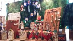 Xmas display at Warner 2014