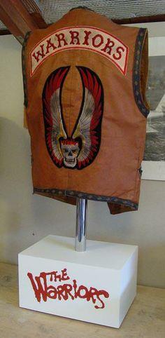 The Warriors original vest worn by Rembrandt.