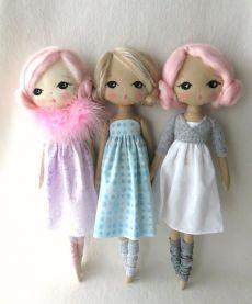 1 pezzi Bambole Accessori cravatta di tela per 20cm BAMBOLA OUTFIT